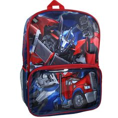 You'd expect this backpack to transform with the awesome images of Optimus Prime on this 16-inch backpack! #WhySchoolRules