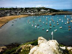 The Isles of Scilly, nestling just 35 miles off the coast of Cornwall, are like nowhere else in England. Outstandingly beautiful, uncrowded and unspoilt. Slow Travel, Far Away, Places Ive Been, Scilly Isles, Cornish Coast, Places To Visit, Cornwall England, Landscape, Natural History