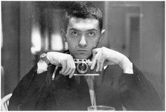 Stanley Kubrick, self-portrait from around 1945.