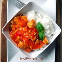 Domowy sos słodko-kwaśny do kurczaka i ryżu