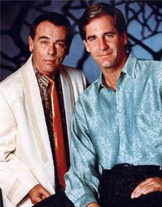 I was just talking about this show!! Quantum Leap - Sam and Al. My favorite show of all time!!