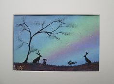 Hares by Moonbeams Kiss The Sea (Fi Goldsmith)