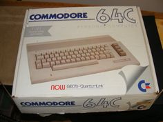 Commodore 64 Computer.
