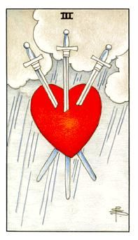 Learn how to read tarot cards and the three of swords Card in the minor arcana of the Rider waite deck of Tarot cards from Amanda Goldson, who is a uk based Tarot Coach and Author and has over 16 years experience of reading and teaching tarot cards Tarot Gratis, Rider Waite Tarot, Tarot Card Meanings, Tarot Readers, Oracle Cards, Heart Art, Deck Of Cards, Card Deck, Tarot Decks