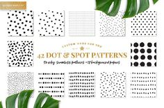 This hand drawn mix of organic spots and clean, classic dots are seamless and in repeat. Each print is extremely user friendly for mac or pc users. Perfect for advanced designers to beginner artists in the need for quick dots. Recolor, rescale, overlap prints, and mock up products in a seconds. @creativework247
