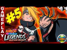 Naruto Shippuden Legends Akatsuki Rising #5 PSP Walkthrough