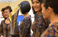 Singapore Airlines cabin crew Singapore girl