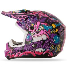 Kinetic Jungle Youth Purple/Pink Helmet | FLY Racing | Professional grade Motocross, BMX, MTB, Offroad, ATV, Snowmobile, and Watercraft apparel and hard parts
