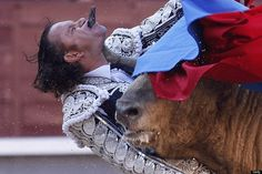 Matador Julio Aparicio Gored Through Chin During Madrid