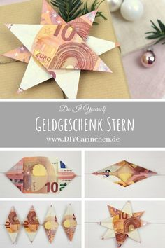 DIY - origami star as a Christmas gift Diy Origami, Origami Cards, Diy Crafts Videos, Diy And Crafts, Christmas Presents, Xmas, Christmas Diy, Weihnachten Diy, Gifts For Family