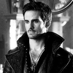 Captain Hook | Killian Jones | The Look. I wish he was looking at me that way. Damnit.