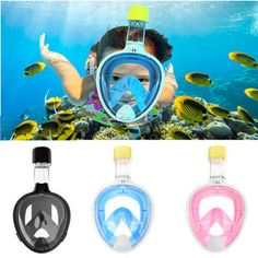 IPRee® Upgraded Silicone Underwater Scuba Anti-fog Full-Dry Diving Mask Snorkeling Goggles Glasses