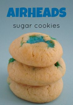 AirHeads Sugar Cookies - Quick & easy recipe that kids will love!