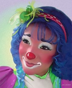 This one should be an inflatable punch in the face clown toy. Clown Makeup, Costume Makeup, Halloween Makeup, Halloween Costumes, Auguste Clown, Clown Face Paint, Cute Clown, Creepy Clown, Female Clown