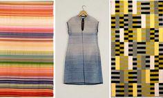 Textiles: Gunta Stolz, Five Choirs, 1928;Lis Beyer-Volger, Bauhaus Dress, 1928;Anni Albers: Wall hanging WE 493/445, 1926