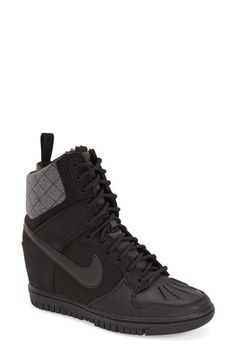 super popular e3e68 21b3d ... Womens Nike Dunk Sky Hi Wedge Sneaker, ...