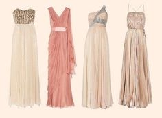 Love all of these styles. Perfect dresses for a nice night out or a glamorous party.