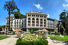 Palace Hotel in Portoroz / Port of Roses /, Slovenia, Nikon Coolpix B700, 8.1mm, 1/1250s, 1/1000s, 1/800s, 1/640s ISO100, f/4, panorama segment 9, HDR photography, 201805201118