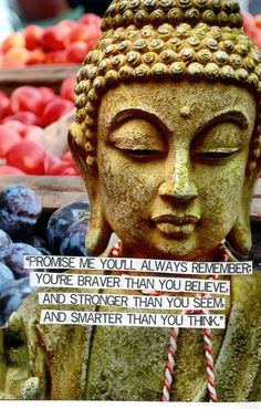 This is so true. Believe in yourself - you can accomplish amazing things! I promise Stronger Than You, Always Remember, I Promise, Image Sharing, Love And Light, Believe In You, Brave, Thinking Of You, Buddha