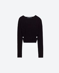 Image 8 of SWEATER WITH SIDE SLITS from Zara