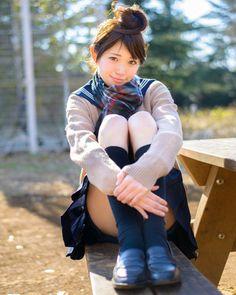 西澤メグさん | 美人スナップ 制服特集