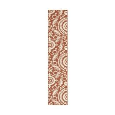 Surya ALF-9613 Alfresco Power Loomed Polypropylene Rug Red 8 1/2 x 12 ($376) ❤ liked on Polyvore featuring home, rugs, home decor, red area rugs, border area rugs, outdoor rugs, polypropylene outdoor rugs and hand knotted rugs
