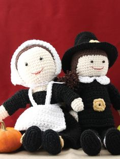 Pilgrim Billy Doll | Yarn | Free Knitting Patterns | Crochet Patterns | Yarnspirations