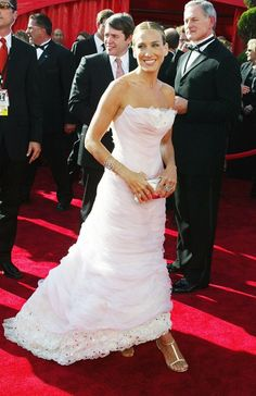 Sarah Jessica Parker at The 55th Emmy Awards in a Chanel gown