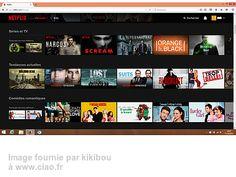 Avis sur le site internet netflix.com par kikibou