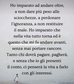 Quotes Thoughts, Love Me Quotes, Italian Language, Tumblr, Inspire Others, Note To Self, Karma, Sentences, Funny Quotes