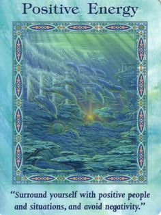 Positive Energy Card Extended Description - Mermaids and Dolphins Oracle Cards by Doreen Virtue Chakra, Angel Readings, Free Angel, Angel Guidance, Oracle Tarot, A Course In Miracles, Angel Cards, Guardian Angels, Card Reading