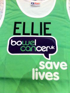 Ellie's Virgin London Marathon 2015 page  running 10K, two half marathons and the marathon for Bowel Cancer UK because I'm running in memory of my Grandma x