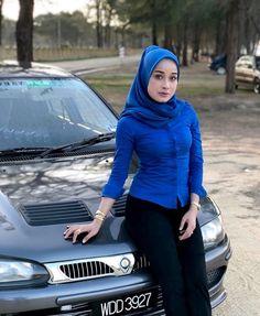 Muslim Hijab, Hijabi Girl, Hijab Chic, Beautiful Hijab, Mode Hijab, Muslim Women, Covergirl, Hijab Fashion, Korea
