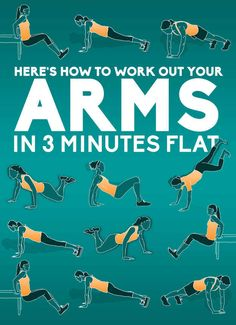 Here's How To Work Out Your Arms In Three Minutes Flat
