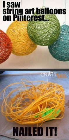 Just Because It's on Pinterest, Doesn't Mean That It Can Actually Be Done lmao. You have have to be a really experienced craft person to accomplish this or to be fortunate of accomplishing.