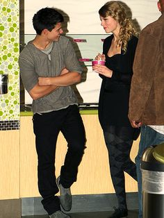 14. HE'S A MUSE    photo | Taylor Lautner, Taylor Swift
