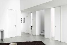 Porta invisível Eclisse  Syntesis Collection