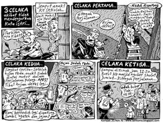 Mice Cartoon, Kompas Minggu Edisi 20 November 2016: 3 CELAKA