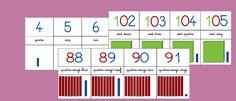 Frise numérique allant de 0 à 120 (moyenne section et grande section de maternelle, cp, ce1, ce2) Peaceful Parenting, Kids And Parenting, Maternelle Grande Section, Bar Chart, Activities For Kids, School, Occasion, Blogging, Parents