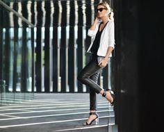 BLACK & WHITE | My Daily Style en stylelovely.com