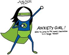 Anxiety Girl! Me! xkateralligator