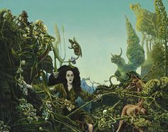 Max Ernst, Leonora in the Morning Light on ArtStack #max-ernst #art