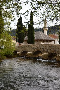 Stolac Bosnia And Herzegovina, Country, Water, Painting, Travel, Beauty, Beautiful, Art, Europe