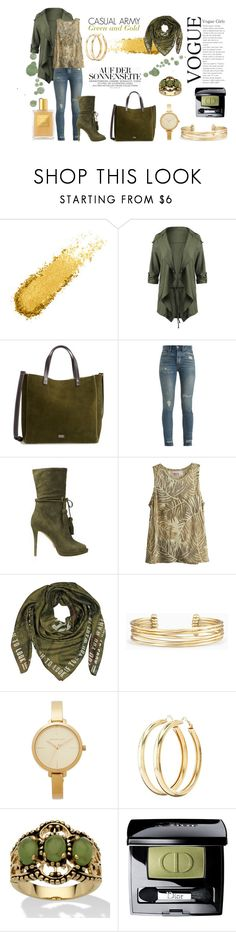 """SAFARI SET"" by celine-diaz-1 on Polyvore featuring mode, Frances Valentine, RE/DONE, MICHAEL Michael Kors, Calypso St. Barth, Givenchy, Stella & Dot, Michael Kors, Charlotte Russe et Palm Beach Jewelry"