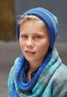 Lana Grossa MÜTZE Cool Wool Degradé - FILATI Teens No. 7 - Modell 11 | FILATI.cc WebShop