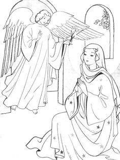 Immaculate Conception Coloring Pages _13