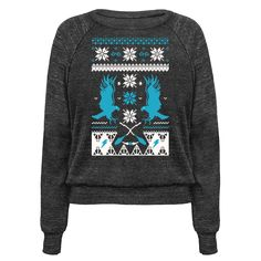 With Christmas around the corner everyone will be wearing their best ugly sweaters. Pick something that's not only ugly, but nerdy too! If you're a geek in need of something to wear for the holiday season how about this cool harry potter shirt? Perfect for any Ravenclaw in need of an ugly sweater this December. Also makes a great gift for book lovers!