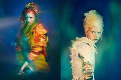 plastic fusion: sophia nilsson by nicolas guérin for vestal magazine!