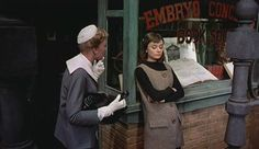 Do you love Funny Face? I do. And I think Audrey's outfits were cuter pre-makeover.