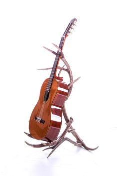 Antler Guitar Stand and nice guitar but mainly stand